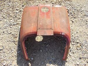 Farmall 460 Utility Tractor Nice Original Ih Front Hood Cover Panel Over Tank