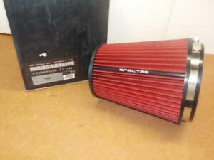 Spectre Hpr9891 Clamp On Cold Air Intake Air Filter 6 Flange X 8 5 Tall