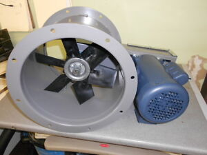 12 Dia Tube Axial Exhaust Fan For Paint Spray Booth