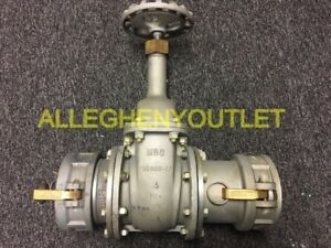 Mbc Gate Valve Flange Size 4 235 rf125 W Male Female Couplers Exc