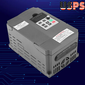Us 2 2kw Variable Frequency Drive Vfd Speed Controller For 3 phase Ac 220v Motor