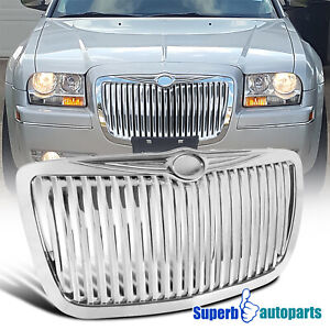 For 2005 2010 Chrysler 300 300c Vertical Grill Front Grille Replacement