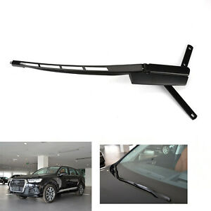 Steel Front Windshield Wiper Arm Right Black For Audi Q7 2007 2014