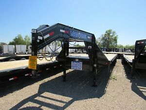 34 Deckover Gooseneck 2 10k Dexter Axles load Trail 5 Dove W max Ramps