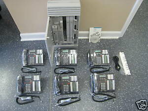 Nortel Norstar Mics 7 1 Office Phone System Meridian 6 T7316