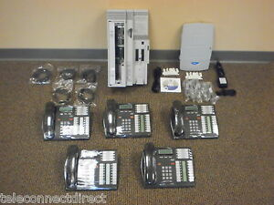 Nortel Norstar Cics Business Phone System 5 T7316 Caller Id Call Pilot Vm