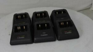 Lot Of 6 motorola Ntn1174a Ntn1171a 6881072c20 Jedi Charger See Notes