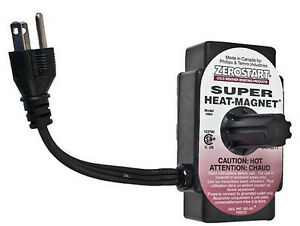 Magnetic Engine Block Heater For Tractors Or Other Equipment Zerostart Brand