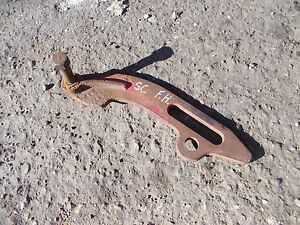 Farmall Super C Tractor Nice Original Ih Disk Brake 2pt Hitch Mounting Bracket