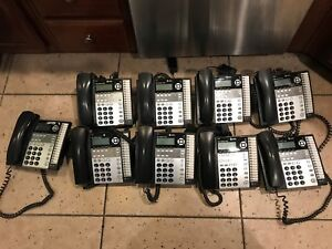 Lot Of 9 At t 1070 4 line Small Business Phones
