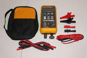 Fluke 718 1g Pressure Calibrator 1 To 1 Psi W Tl75 Stackable Leads