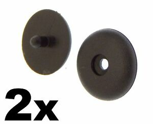2x Universal Seat Belt Buckle Buttons Holders Studs Retainer Stopper Rest