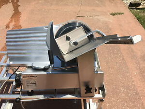 Bizerba Se12 Manual Meat Cheese Turkey Deli Butcher Market Slicer works