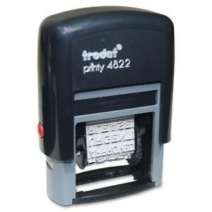 Trodat Self inking Dial a phrase Stamp 74046