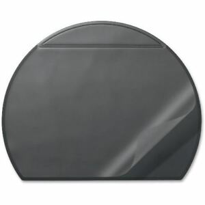 Durable Semi Circle Desk Mat With Overlay 729001