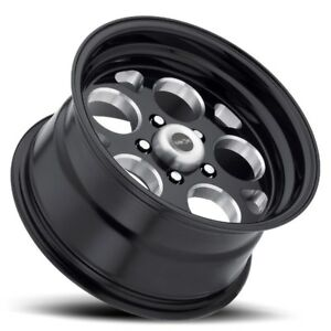15x10 Vision 561 Sport Mag 5x114 3 Et 25 Black Wheels Set Of 4
