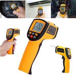 Non contact Lcd Display Digital Handheld Temperature Laser Infrared Thermometer