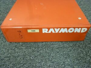 Raymond 7400 7420 7440 Reach fork Forklift Lift Truck W Acr Parts Catalog Manual