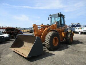 2004 Case 721d Wheel Loader Front Loader Payloader