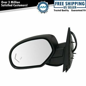 Mirror Power Folding Heated Signal Memory Blind Spot Puddle Textured Left For Gm