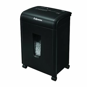 Fellowes Refurbished 62mc 10 sheet Micro cut Home Shredder With Safety Lock