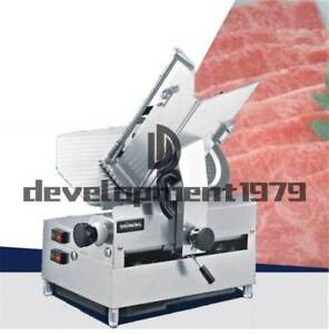 12 inch 220v 250w Table Automatic Commercial Slicer Planer Fattening Machine