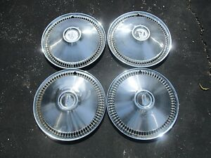 1966 Oldsmobile Olds F85 Cutlass 14 Inch Hubcaps Wheel Covers