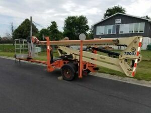 Used Jlg T500j Tow pro Series Trailer Mounted Lift