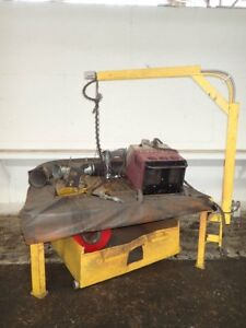Thermal Dynamics Pak 625 Xr Plasma Cutter Station With Blower 05181520010