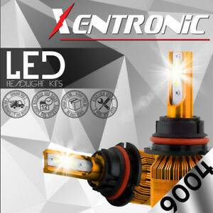 Xentronic Led Hid Headlight Kit 9004 Hb1 6000k 1999 2001 Dodge Ram 1500