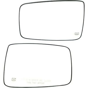 Mirror Glass Driver Passenger Side Heated Ram Truck Lh Rh For Dodge 1500 2500