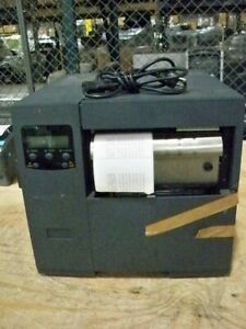 Datamax Dmxnet Thermal Barcode Label Printer W test Page dmg Front Cover