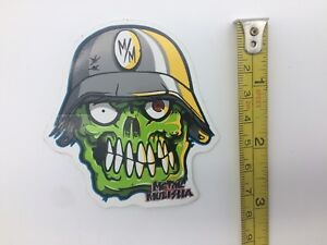 Metal Mulisha Stickers Eyegore Sticker This Sticker Is 3 Tall As Shown
