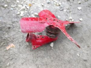 Farmall C Tractor Front Engine Ih Fan Blade Belt Pulley Bracket