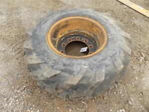 Deestone 16 0 70 20 Tire On Caterpillar Rim For Small Wheel Loaders