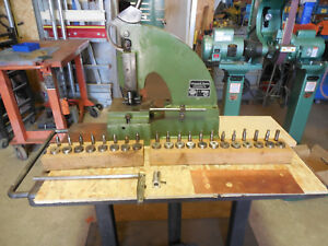 Di Acro 1 Punch Diacro With Punch Dies Punch Press Roper Whitney pexto Nice