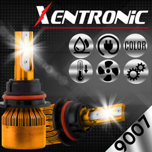 Xentronic Led Hid Headlight Kit 9007 Hb5 6000k 1998 2001 Chevrolet Metro