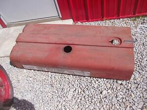 Farmall 560 Rowcrop Tractor Excl Original Ih Ihc Hood For Over Engine W Emblems