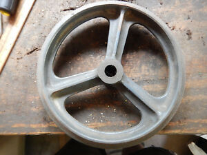 Older Logan Outboard Countershaft 2 Step Pulley