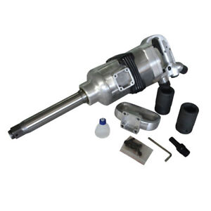 Sm588 Industrial Air Impact Wrench 1 Pneumatic Compressor Long Shank 1900ft lbs
