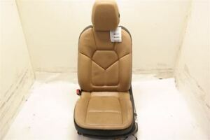 Front Driver Tan Bucket Seat Electric Air Bag Fits 11 14 Porsche Cayenne 92a Oem