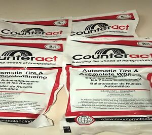 4 Bags 8oz Counteract Tire Balance Bead Bags