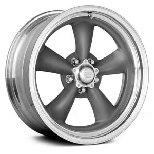 For Ford Mustang 65 73 American Racing Wheels 15x6 6 5x114 3 Rims Set Of 4