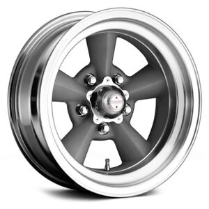For Ford Mustang 65 73 American Racing Wheels 17x7 0 5x114 3 Rims Set Of 4
