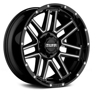 Tuff T17 Wheels 20x10 19 6x135 87 1 Black Rims Set Of 4