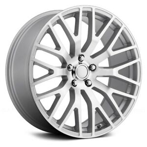 Voxx Replica Mustang Performance Wheels 19x9 45 5x114 3 Silver Rims Set Of 4