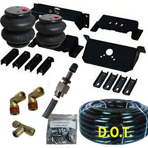 Rear Suspension Air Bag Towing Kit 1994 2002 Dodge Ram 2500 Truck Over Load