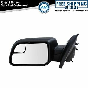 Mirror Power With Spotter Textured Black Driver Side Left Lh For 11 14 Ford Edge