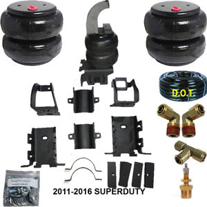 Air Helper Spring Kit Air Max Bolt On 2011 2016 Ford Super Duty Over Load Level