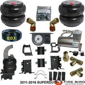 Rear Suspension Air Bag Towing Kit 2011 2016 Ford F350 4wd W air Managementdc100